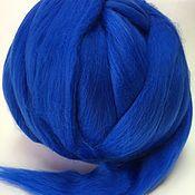 Материалы для творчества handmade. Livemaster - original item Australian Merino Royal blue. Germany.19 MD. Wool.. Handmade.