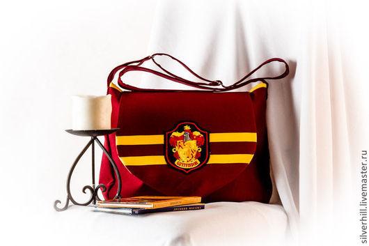 Женские сумки ручной работы. Ярмарка Мастеров - ручная работа. Купить Сумка Harry Potter 1 - Gryffindor, Slytherin, Hufflepuff, Ravenclaw. Handmade.