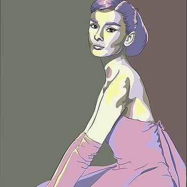 Дизайн и реклама ручной работы. Ярмарка Мастеров - ручная работа Иллюстрации: рисунок по фото. Handmade.