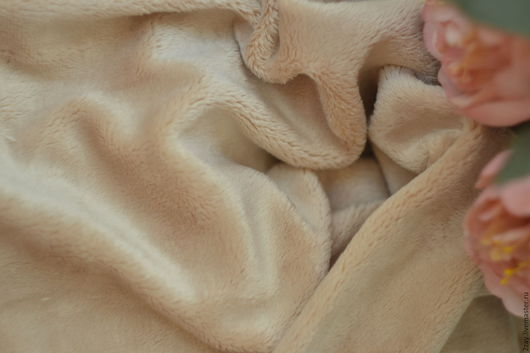 Куклы и игрушки ручной работы. Ярмарка Мастеров - ручная работа. Купить Опт ПЛЮШ-НОВ БЕЖЕВЫЙ (от 5 м.п.; коротковорсный). Handmade.