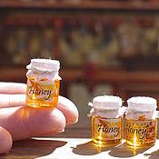 Куклы и игрушки ручной работы. Ярмарка Мастеров - ручная работа Мёд 1/12. Handmade.
