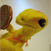 Куклы и игрушки ручной работы. Ярмарка Мастеров - ручная работа Лисья Ящерка-шаманка. Handmade.