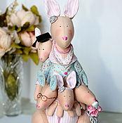 Куклы и игрушки ручной работы. Ярмарка Мастеров - ручная работа Кенгуру тильда многодетная мама. Handmade.