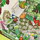 Кукольный дом ручной работы. Огород. Кукольная миниатюра Comely (comely-mc). Интернет-магазин Ярмарка Мастеров. Румбокс, дерево