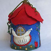 Для дома и интерьера ручной работы. Ярмарка Мастеров - ручная работа Интерьерный домик грелка для чайника Маковый домик. Handmade.