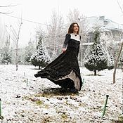 Одежда handmade. Livemaster - original item Winter chic boho-skirt