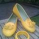 Обувь ручной работы. Лоферы желтые. Paradise Bali. Интернет-магазин Ярмарка Мастеров. Лоферы, балетки из питона