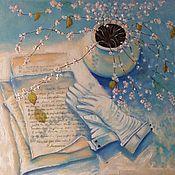 Картины и панно ручной работы. Ярмарка Мастеров - ручная работа Мой нежный друг. Handmade.