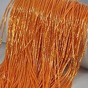 Нитки ручной работы. Ярмарка Мастеров - ручная работа Трунцал Светлый Оранж 1 мм. Handmade.