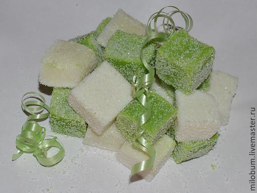 """Скраб ручной работы. Ярмарка Мастеров - ручная работа. Купить Сахарный мыло - скраб """"Зелёный чай"""". Handmade. Зеленый, для ванной"""