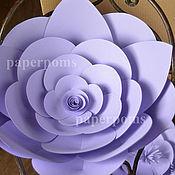 Подарки к праздникам ручной работы. Ярмарка Мастеров - ручная работа цветы бумажные. Handmade.