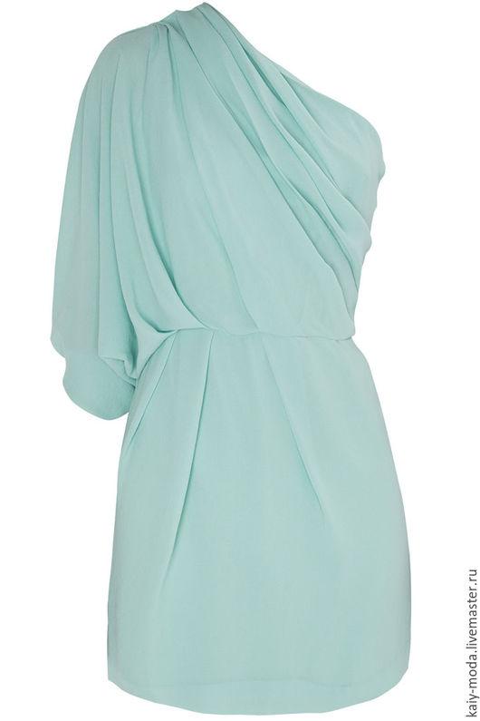 """Платья ручной работы. Ярмарка Мастеров - ручная работа. Купить Коктейльное платье """"Mint"""". Handmade. Мятный, платье, нарядное платье"""
