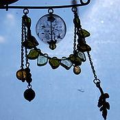 """Украшения ручной работы. Ярмарка Мастеров - ручная работа Брошь-булавка """"Концентрат лета"""". Handmade."""