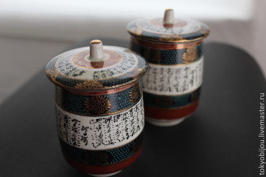 Керамика, япония, японская керамика, подарочный набор, набор из керамики, подарок на свадьбу, подарок на день рождения, японский фарфор, япония, керамика пара, набор из керамики, дорогой фарфор, винта