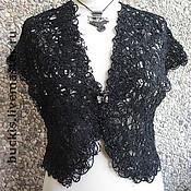 Одежда handmade. Livemaster - original item Openwork Bolero -