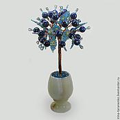 Цветы и флористика handmade. Livemaster - original item Tree of lapis lazuli