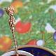 Ложка может быть украшена дарственной надписью, большим вензелем или монограммой с Вашими инициалами. Серебряные ложки Скоблинского. Изящный предмет сервировки.