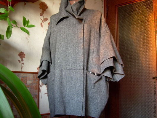 """Верхняя одежда ручной работы. Ярмарка Мастеров - ручная работа. Купить Пальто и платье из твида """"Мисс загадочность"""". Handmade."""
