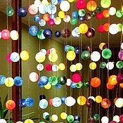 Для дома и интерьера ручной работы. Ярмарка Мастеров - ручная работа Тайские фонарики-гирлянды: Многоцветие. Handmade.
