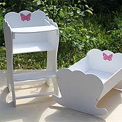 Работы для детей, ручной работы. Ярмарка Мастеров - ручная работа мебель для кукол в наличии и на заказ. Handmade.