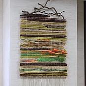 Композиции ручной работы. Ярмарка Мастеров - ручная работа Флористический коврик из натуральных материалов Осень. Handmade.
