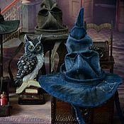 Куклы и игрушки ручной работы. Ярмарка Мастеров - ручная работа Распределяющая шляпа  для кукол, Гарри Поттер.. Handmade.