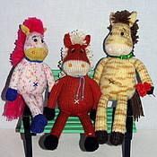 Куклы и игрушки ручной работы. Ярмарка Мастеров - ручная работа Лошадь. Handmade.