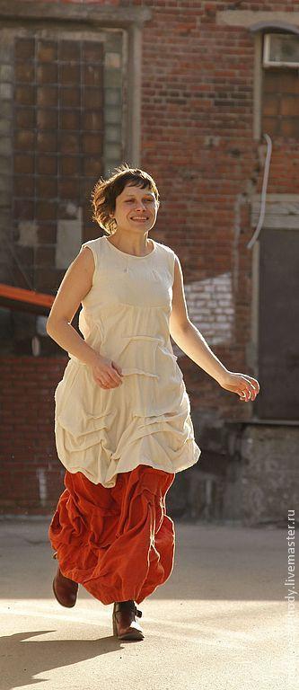 Платья ручной работы. Ярмарка Мастеров - ручная работа. Купить Платье из шерсти Молочная пенка. Handmade. Белый, теплое платье