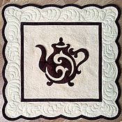 """Картины и панно ручной работы. Ярмарка Мастеров - ручная работа Квилт """"Чайная церемония"""". Handmade."""