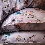 Подзоры и юбки для кровати ручной работы. Ярмарка Мастеров - ручная работа Комплект постельного белья «Нежность». Handmade.