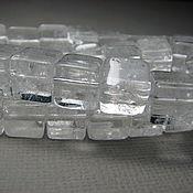 Материалы для творчества handmade. Livemaster - original item Rhinestone square, 8 mm cube. Handmade.