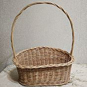 Для дома и интерьера handmade. Livemaster - original item Basket from vine to design