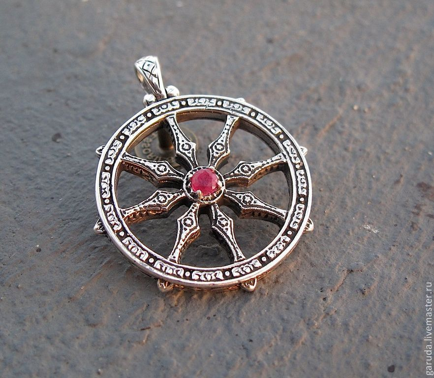 Pendant wheel of dharma shop online on livemaster with shipping pendants handmade livemaster handmade buy pendant wheel of dharma aloadofball Gallery