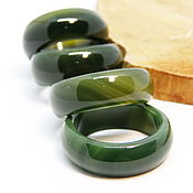 Украшения handmade. Livemaster - original item Green agate ring 20. Handmade.