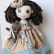 """Куклы и игрушки ручной работы. Ярмарка Мастеров - ручная работа Авторская текстильная игровая  кукла """" Первый снег"""". Handmade."""