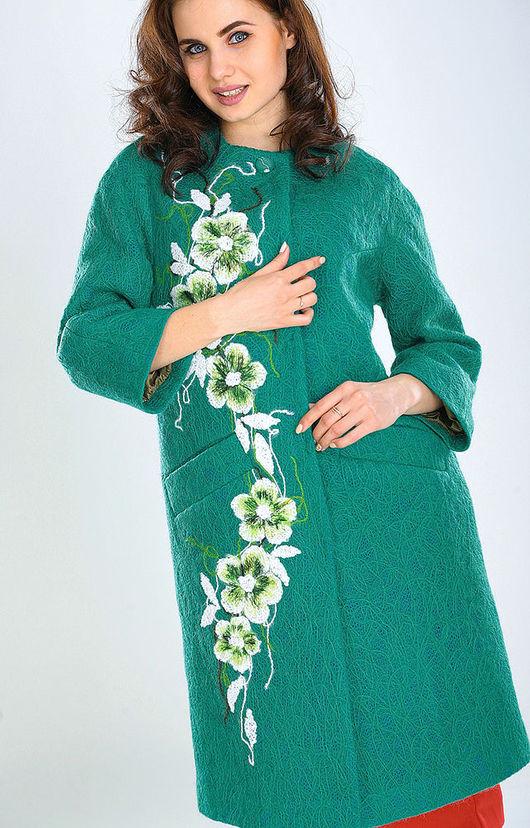 Верхняя одежда ручной работы. Ярмарка Мастеров - ручная работа. Купить ПС (2) 08. Handmade. Цветочный, брендовая одежда