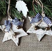 Сувениры и подарки handmade. Livemaster - original item SCANDINAVIA.Christmas suspension. Handmade.