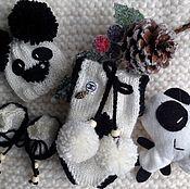 """Куклы и игрушки ручной работы. Ярмарка Мастеров - ручная работа """"Панда"""" комплект для пупса. Handmade."""
