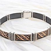 Украшения handmade. Livemaster - original item The band is rigid: Exclusive bracelet