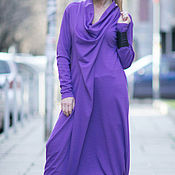 Одежда handmade. Livemaster - original item Spring long sleeve dress, Punto Milano - DR0105PM. Handmade.