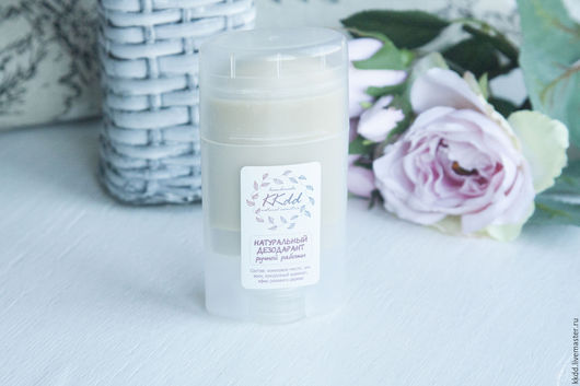 Дезодоранты ручной работы. Ярмарка Мастеров - ручная работа. Купить Натуральный дезодорант с запахом розового дерева. Handmade. Бежевый