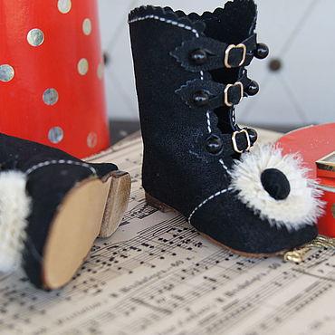 """Куклы и игрушки ручной работы. Ярмарка Мастеров - ручная работа Обувь для Антикварной и современной куклы """"Astra"""". Handmade."""