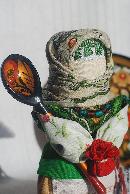 """Народные куклы ручной работы. Ярмарка Мастеров - ручная работа. Купить Кукла Берегиня дома """"Марфуша"""". Handmade. Зеленый"""