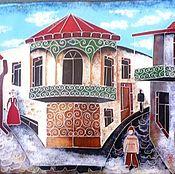 Картины и панно ручной работы. Ярмарка Мастеров - ручная работа , Старый Тбилиси,. Handmade.
