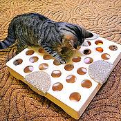Для домашних животных, handmade. Livemaster - original item The cattery. Game for cat, cat, kittens. Handmade.
