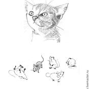 Дизайн и реклама ручной работы. Ярмарка Мастеров - ручная работа Иллюстрации малоцветные и черно-белые. Handmade.