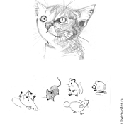 Дизайн и реклама handmade. Livemaster - original item Low colouring illustrations and black and white. Handmade.