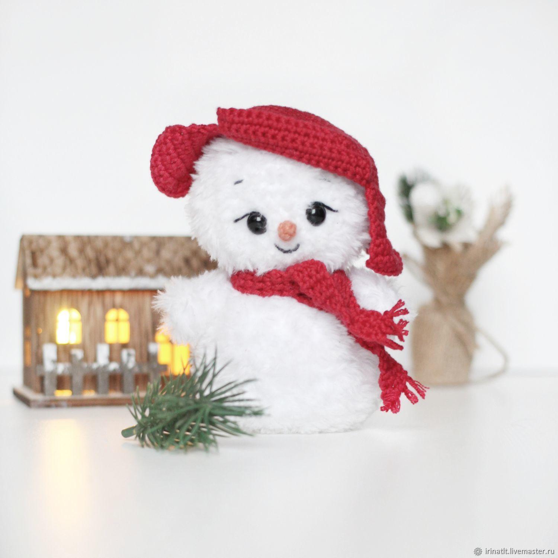 Снеговик, Мягкие игрушки, Тольятти,  Фото №1