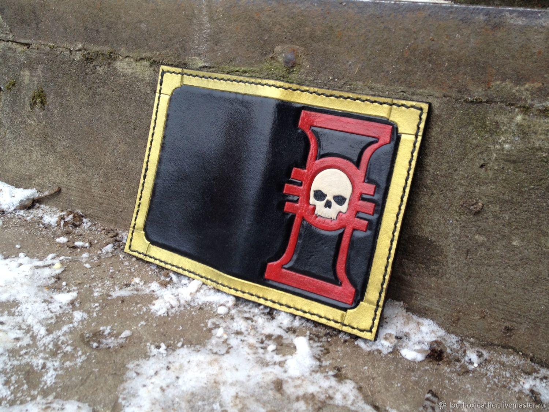 Кожаная обложка на паспорт Warhammer Inquisition, Обложка на паспорт, Ногинск,  Фото №1