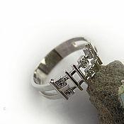 Украшения manualidades. Livemaster - hecho a mano Ring silver